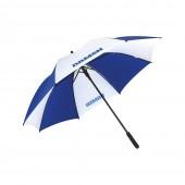Umbrella - blue/ white