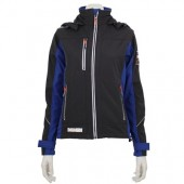 Sustainable softshell jacket recycled polyester Woman