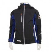 Sustainable softshell jacket recycled polyester Men